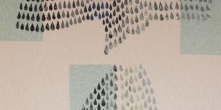 Composition VIII, collage, 50 x 70 cm