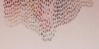 Composition VI, collage, 50 x 70 cm
